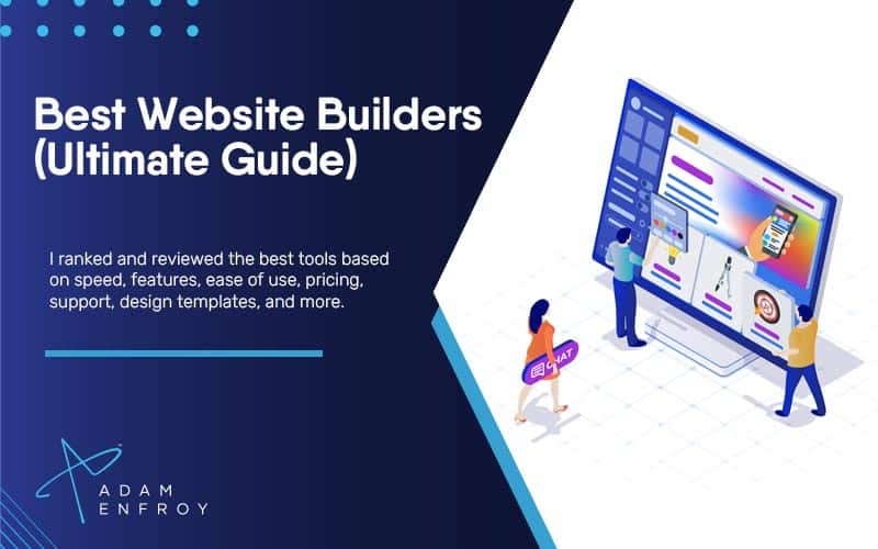 17 Best Website Builders: Wix, Squarespace, and More (2021)