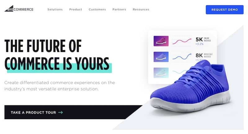 BigCommerce Home Page