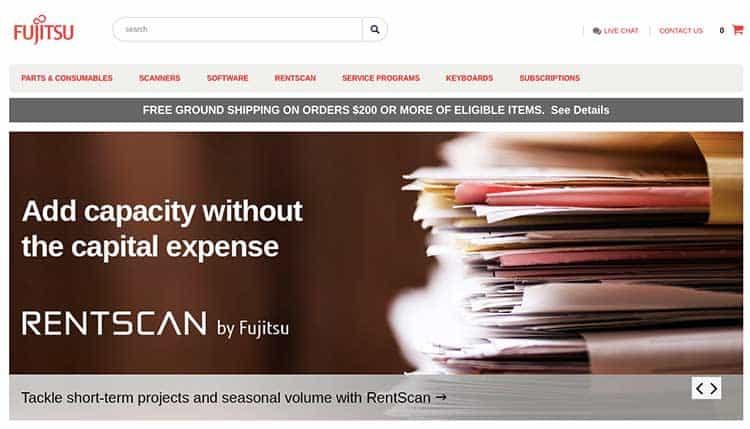 Fujitsu Home Page