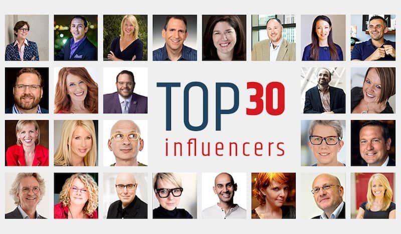 Guest Blogging Top Influencers