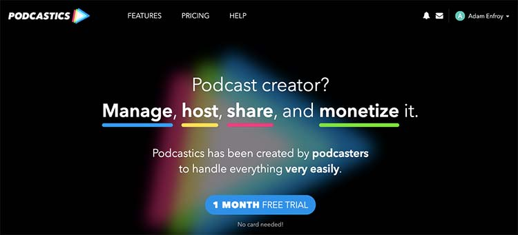 Podcastics Podcast Hosting