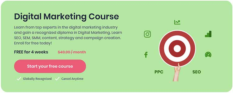Shaw Academy Digital Marketing Course