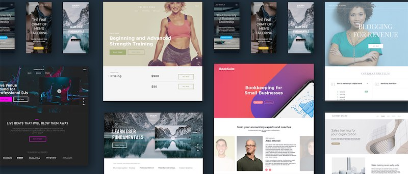 Thinkific Web Design Examples