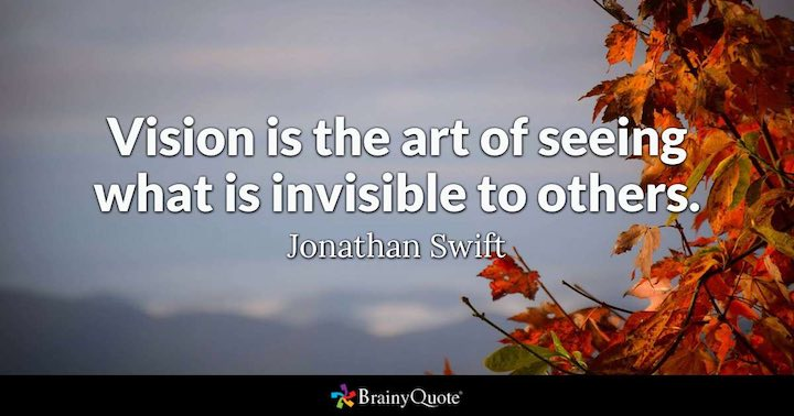 Vision Quote from Jonathan Swift