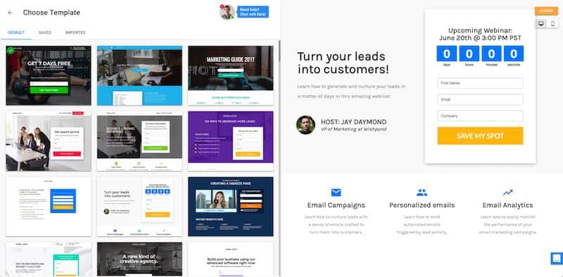 Best Landing Pages 2020.11 Best Landing Page Builder Software For Businesses 2020