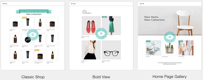 Wix Ecommerce Product Galleries