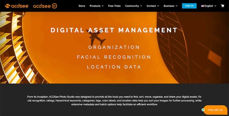 ACDSee - digital asset management tool