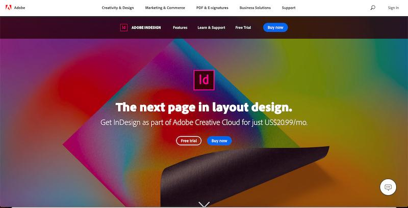 Adobe InDesign cover photo