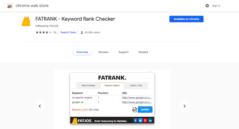 Best SEO Tools Fatrank