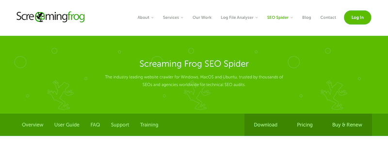 Best SEO Tools Screaming Frog