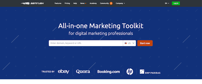 Best SEO Tools SEMrush