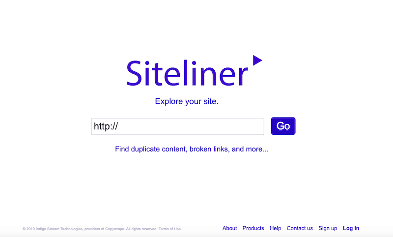 Best SEO Tools Siteliner