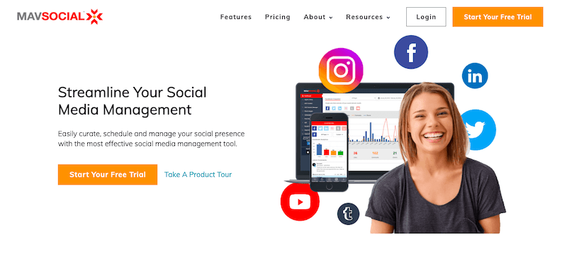 Best Social Media Management Tools: MavSocial