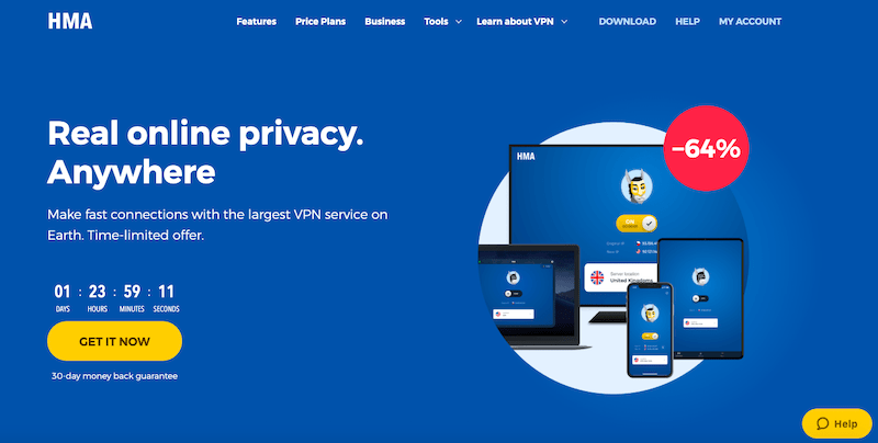 Best VPN Services of 2019: HMA VPN
