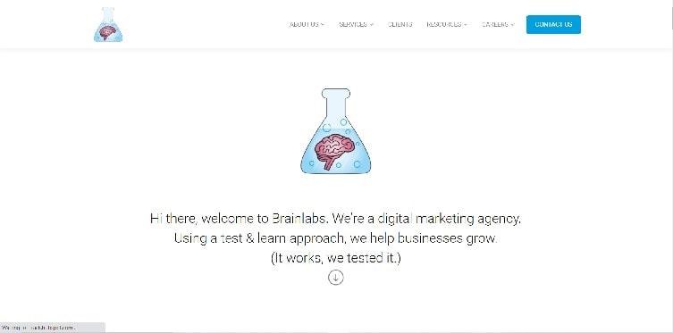 Brainlabs Homepage