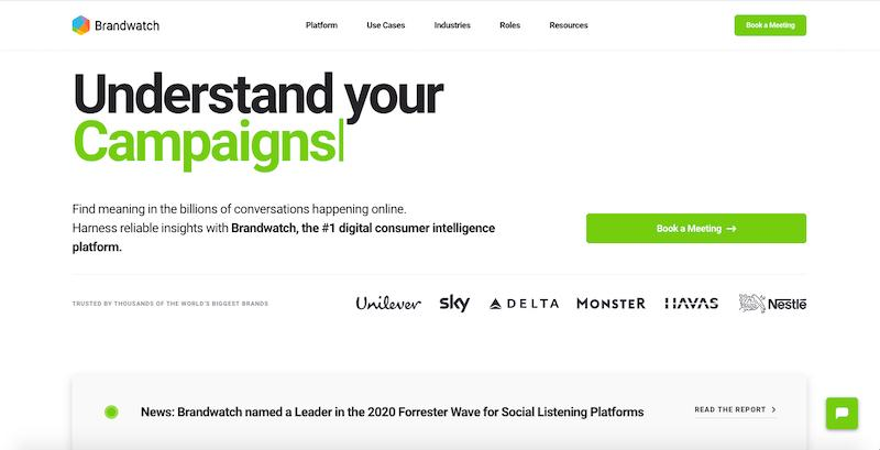 Brandwatch: digital consumer intelligence platform