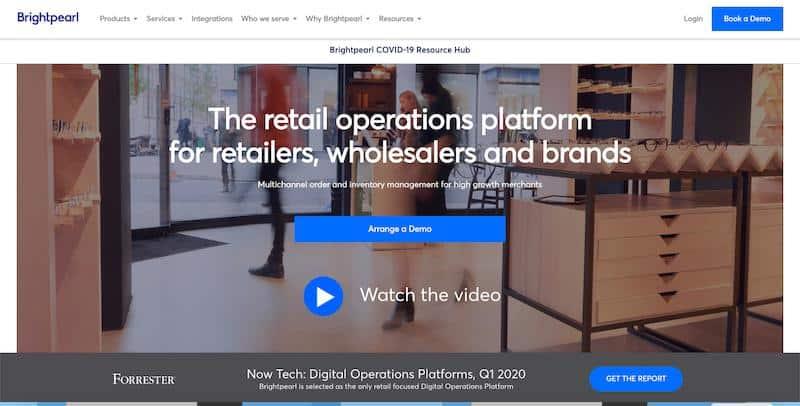 Brightpearl: omnichannel retail software