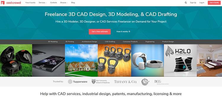 Cad Crowd Homepage