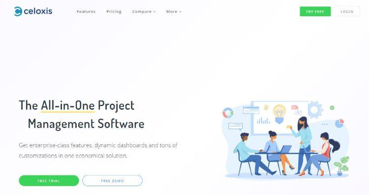 celoxis homepage