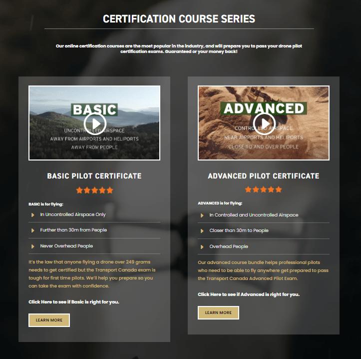 Coastal Drone Courses