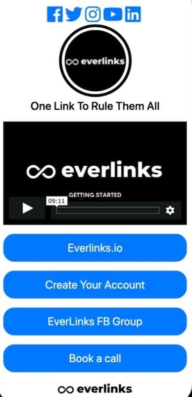 Everlink: link management tool