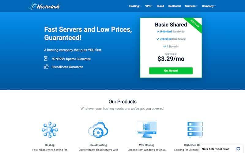 Hostwinds: Cheap Web Hosting Services