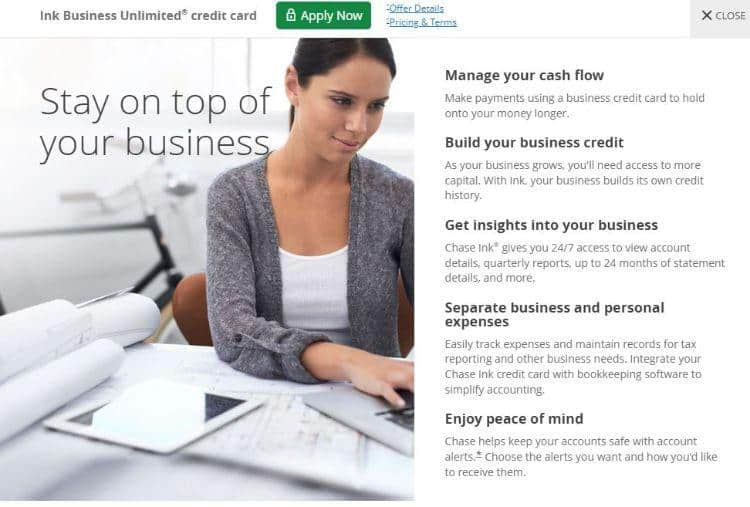 ink business unlimited features