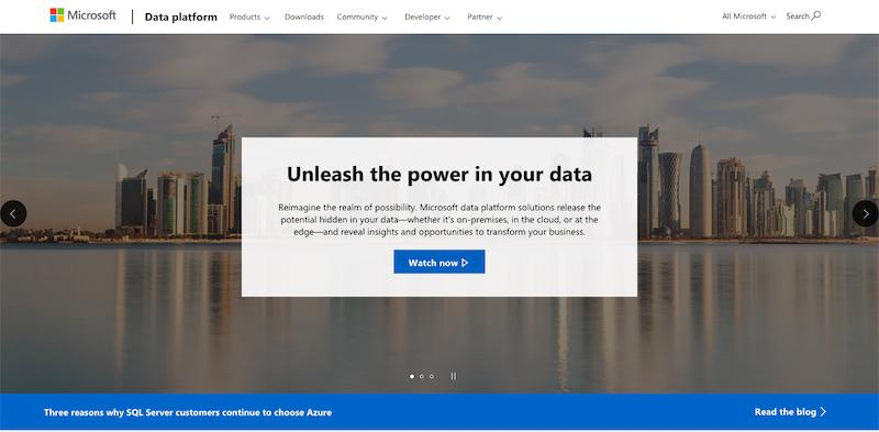 Microsoft SQL Server cover page