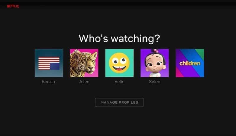 Netflix OTT User Interface