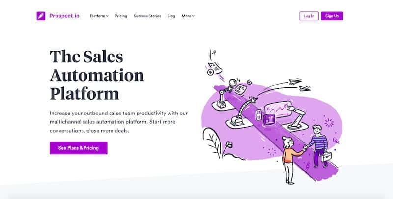 Prospect.io: sales automation platform