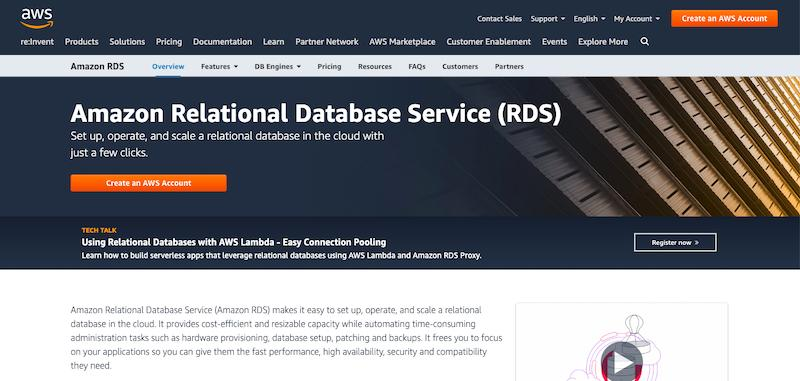 RDS Database software