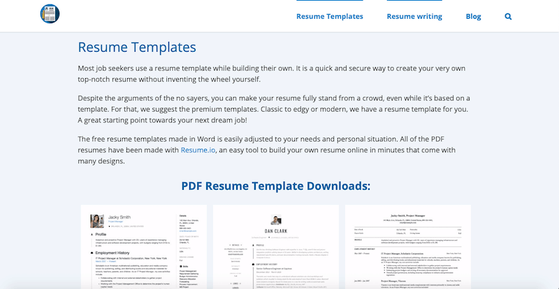 21 Best Resume Templates of 2020 (Free, Word, and PDF)