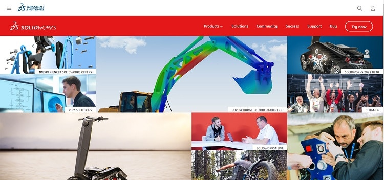 Solidworks Homepage