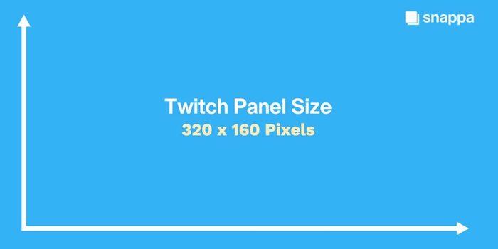 Twitch Panel Size