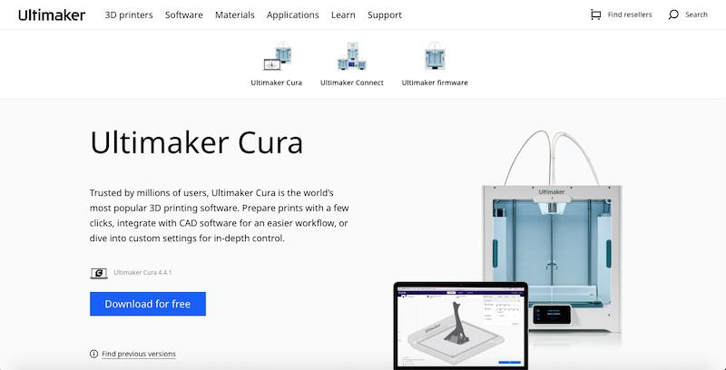 Ultimaker Cura Cover Page