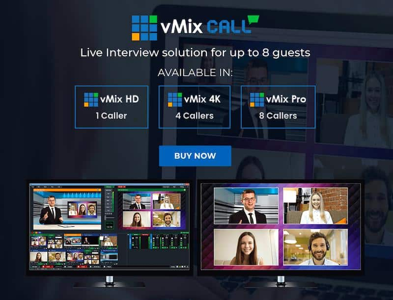 vMix Call Feature