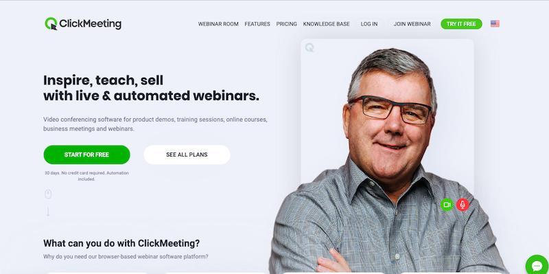 WebinarJam Alternative ClickMeeting