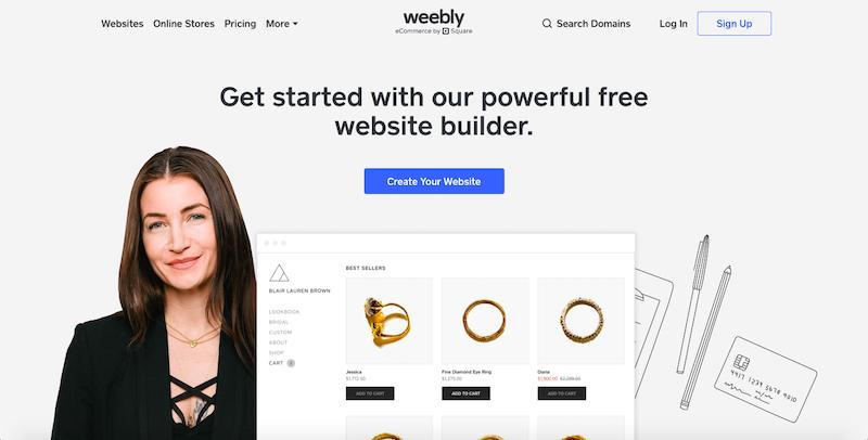 Weebly - Best Design Software