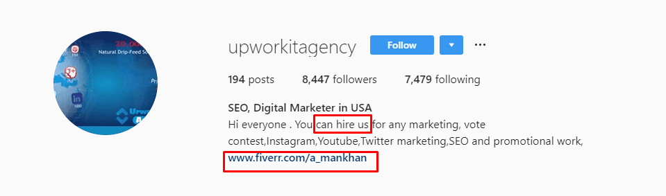 Agencia Upwork It Instagram
