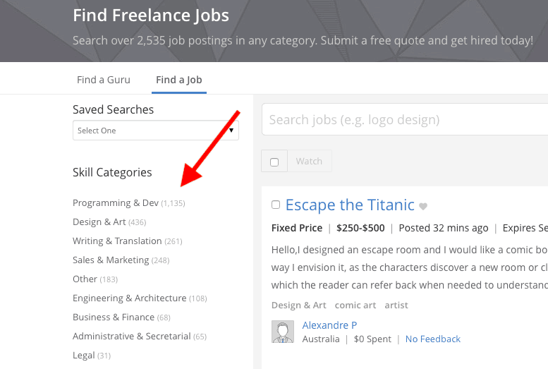 Freelance Coding Jobs