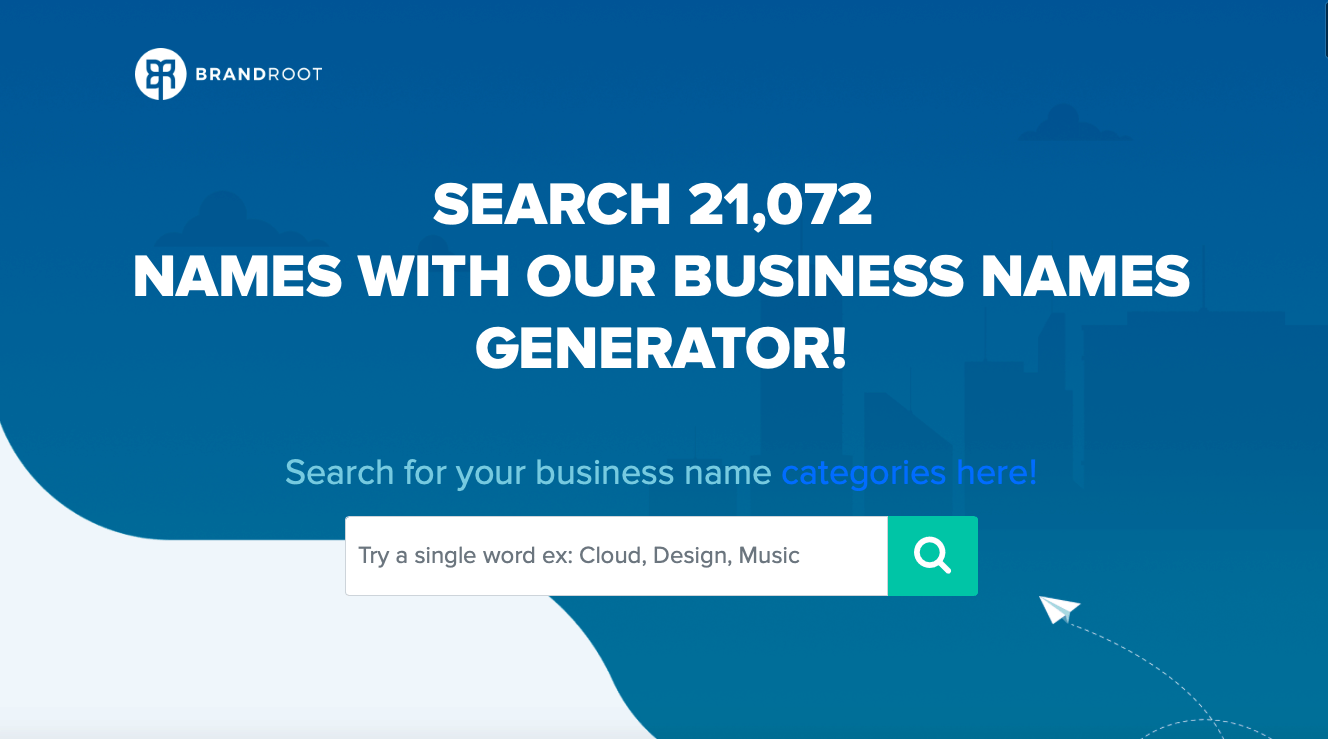BrandRoot Business Name Generator